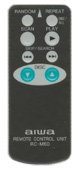 AIWA rcm60 Remote Controls