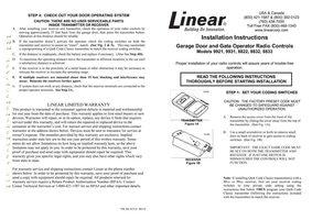 Allstar 9921OM Operating Manuals
