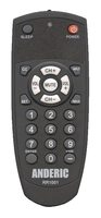 ANDERIC RR1001 Pre-programed for LG 1-Device Universal Remote Control