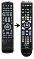ANDERIC RMC10674 TOSHIBA TV/DVD Combo Remote Control