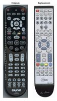 ANDERIC RMC12770 SANYO TV Remote Control