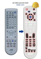 ANDERIC RRC322G JVC TV Remote Control