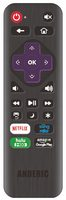 ANDERIC RRLC16.2 Universal with Learning for Sharp Roku Remote Controls