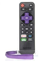 RRLC16.2 Roku TV Universal with Learning preprogrammed for Sharp Roku P/N: RRLC16.2