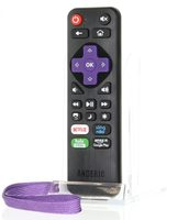 ANDERIC RRLC16.2 Roku TV Universal with Learning preprogrammed for Sharp Roku Remote Controls