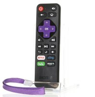 ANDERIC RRLF16 for LG/TCL/Haier/Hitachi/Sanyo/Philips/Magnavox/JVC/ONN/Element/RCA Roku Enhanced TV Remote Control