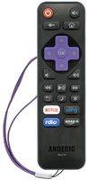 ANDERIC RR-LF-16 for LG/TCL/Haier/Hitachi Roku Enhanced TV Remote Control