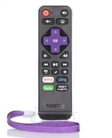 ANDERIC RRST01.2 Roku Express/Ultra Universal with Learning Remote Controls