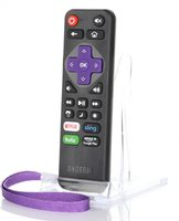 ANDERIC RRST01.2 Roku Express/Ultra Universal with Learning 2 PACK Remote Controls