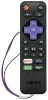 ANDERIC RR-ST-01 for Roku Advanced Universal Remote Control
