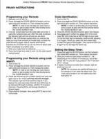 ANDERIC RRUNVOM Operating Manuals