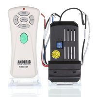 ANDERIC Windward III Kit Replacement Receiver and Remote Ceiling Fan Kits