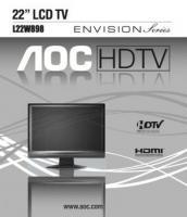 AOC l22w898om Operating Manuals