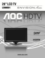 AOC l26w861om Operating Manuals