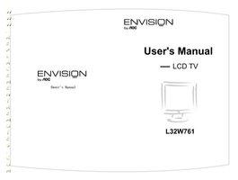 AOC L32W761OM Operating Manuals