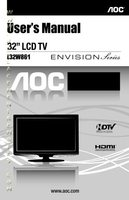 AOC L32W861OM Operating Manuals