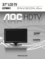 AOC l37w861om Operating Manuals