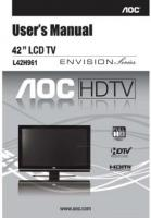 AOC l42h961om Operating Manuals