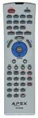 APEX adv3800rm Remote Controls