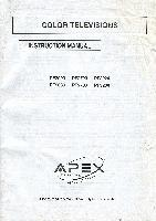 APEX pf2020om Operating Manuals