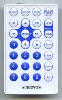 AUDIOVOX 13642400 Remote Controls