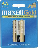 Batteries Maxell AA Remote Controls