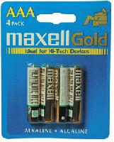 Batteries Maxell AAA Remote Controls