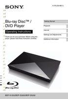 SONY bdps5200om Operating Manuals
