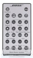 BOSE Wave Music System silver Remote Controls