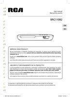 RCA brc11082om Operating Manuals
