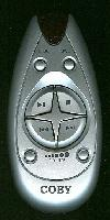 Coby coby01 Remote Controls