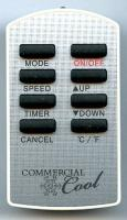 COMMERCIAL-COOL AC562054 Remote Controls