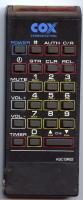 COX abcbr82 Remote Controls