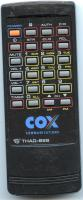 COX thad82s Remote Controls