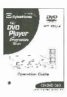 CYBERHOME CHDVD320OM Operating Manuals