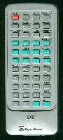 CYBERHOME chldv707b Remote Controls