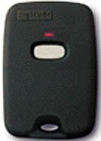 DigiCode DC5042 310 Mhz 1 Button Keychain Remote Garage Door Openers