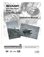 SHARP dvsl20om Operating Manuals