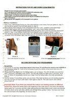 DYNATRON CR1OM Operating Manuals