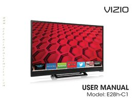 VIZIO e28hc1om Operating Manuals