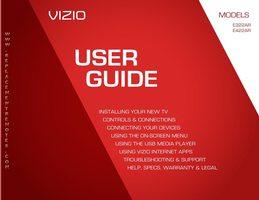 VIZIO xbr102om Operating Manuals