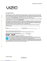 VIZIO e322vlom Operating Manuals