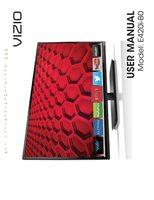 VIZIO e420ib0om Operating Manuals