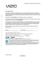 VIZIO e470vleom Operating Manuals