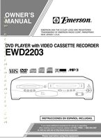 EMERSON ewd2203om Operating Manuals