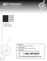 EMERSON le320em3om Operating Manuals