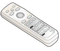 Epson 1104691 Remote Controls