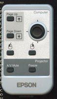 Epson 126222800 Remote Controls