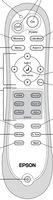 Epson 1424862 Remote Controls