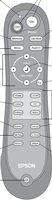 Epson 1473902 Remote Controls